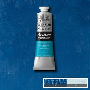 Winsor and Newton Artisan Water Mixable Oil Colour Cerulean Blue Hue