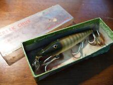 Vintage Creek Chub Pikie Fishing Lure In Box