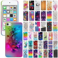 For Apple iPod Touch 5 5th/ 6 6th Gen Design Protector Hard Back Case Cover Skin