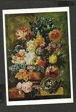 Art card Flowers in Vase Paulus Theodorus van.1754- 1795