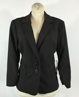 NWT KENNETH COLE Blazer Jacket Size 6 Women CAREER WORK 3 POCKETS / BUTTON FRONT