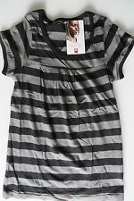 FLASH LIGHTS TUNIKA 32,6,T-Shirt m Cotton made in Africa,Top XS, 164 170,schwarz