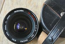 Miranda 28-85mm 1:4-5 Zoom Macro Pentax K mount Lens