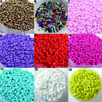 FM- 1200pcs Lots 2mm Glass Beads Seed Pearls Round Spacer For Jewelry Making DIY