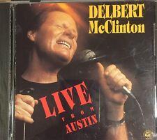 Delbert McClinton - Live from Austin CD 1989 Alligator Records
