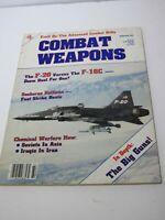 Vintage Combat Weapons Magazine Winter '86 | F20 vs F16C | In Depth:The Big Guns