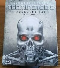 Terminator 2 Judgment Day Skynet Edition (German Import) Blu-ray Steelbook