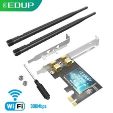 EDUP 300Mbps PCI-E WiFi Card for PC Desktop 802.11n Wireless Adapter US Stock
