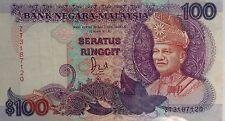 RM100 Jaffar Hussein sign Note Last Prefix ZT 3187120