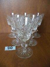 Edinburgh HIGHLAND Cut Crystal - 6 x 5 1/4 Inch / 13.5 cm White Wine Glasses