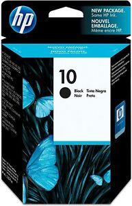 GENUINE & BOXED 2022 DATE HP10 BLACK / C4844AE INK CARTRIDGE - SWIFTLY POSTED