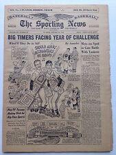 Sporting News Stan Musial Warren Spahn Jan. 10, 1962 very nice no mailing label