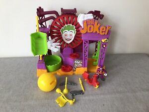 Imaginext Joker Laff Factory Fun House With Joker Figure & Accessories Play set
