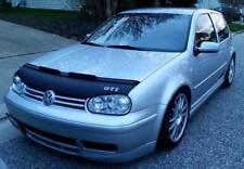 Car Bonnet Hood Bra + GTI LOGO Fits Volkswagen Golf 4 MK4 99 00 01 02 03 04 05