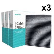 3X Car Pollen Cabin Air Filter 97133-2E200 For Kia Forte Rio Hyundai Genesis