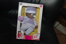 11'' La Baby Play Girl Doll Aa Jc Toys Desinged by Berenguer