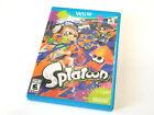 Splatoon (Wii U, 2015) Nintendo Wii U Complete Game TESTED