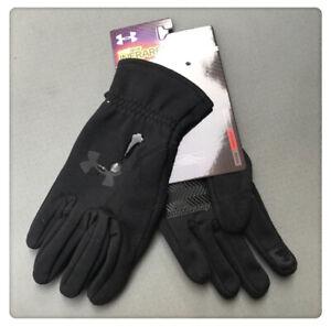 UNDER ARMOUR cold gear infrared Black size L unisex glove