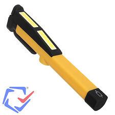 Linterna LED COB bolígrafo de taller con clip magnético 200 lm Maclean MCE173