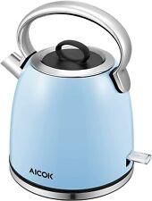 Electric Kettle Retro Electric Tea Kettle (BPA free) 1500W Rapid Water Boiler