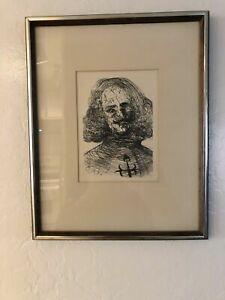 Salvador Dali -Velazquez - Vintage Etching Signed Collectors Guild Original COA