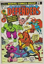 DEFENDERS#9 FN/VF 1973 VS THE AVENGERS MARVEL BRONZE AGE COMICS