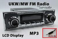 Retrosound Laguna Komplettset Becker Oldtimer Radio MP3 AUX-IN L308509C078039