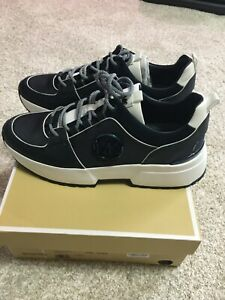 Michael Kors Womens Cosmo Trainer Canvas Sneakers Admiral - Size 10M