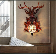 Antlers Height 42Cm Length 25Cm Restaurant Drawing Room Cafe Pub Wall Light