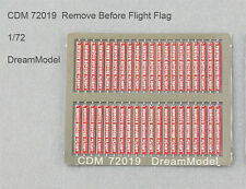 Dreammodel 1/72 72019 Color PE Remove Before Flight Tags Flags