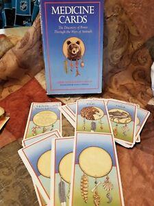 Medicine Cards Sams Carson Werneke Cards & Box ONLY No Book