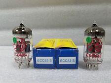 ECC83 JJ New Current Production Pair 12AX7 E83CC 7025
