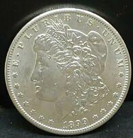 "1899 0 ""Uncirculated"" Morgan Silver Dollar"
