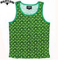 THE BUD TANK TOP SINGLET BY ELWOOD 420 CANNABIS HEMP KUSH - AUTHENTIC