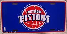 NBA Aluminum License Plate Detroit Pistons NEW