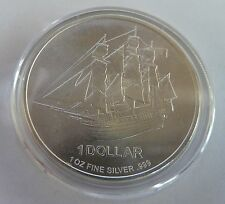 2009 Cook Islands Bounty 1 oz Troy Ounce .999 Silver Bullion Coin