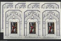 Bund Block 15 ** postfrisch (7 Stück) Weihnachten 1977 BRD EM 955 Sammlung MNH