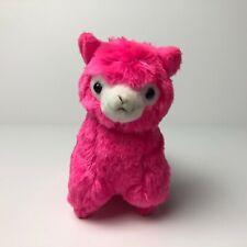 AMUSE Play! Color! Arpakasso Neon Pink (16cm) Alpacasso Alpaca Plush Japan