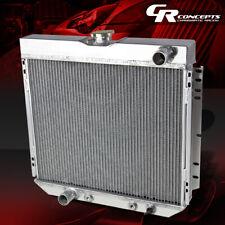 FOR 71-73 FORD/MERCURY MAVERICK/COMET 69-70 COUGAR THREE ROW ALUMINUM RADIATOR