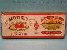 Mayfield Richmond Virginia Triple Succotash Retro Authentic Plaque Sign Repro
