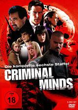 Criminal Minds - Die komplette 6. Staffel                            | DVD | 444