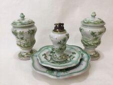 Italy Catchall Dish Green and Yellow Decor Vintage Mid Century Italian Pottery Ash Tray Italian Ceramic Green and Yellow Bowl