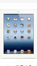 Apple iPad 3rd Gen. 16GB, Wi-Fi + Cellular (Unlocked), 9.7in - White