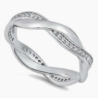 USA Seller Braided Band Ring Sterling Silver 925 Best Deal Jewelry Size 9