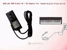 NEW AC Adapter For Yamaha P-45 P-45B 88-Key Digital Piano keyboard Power Supply
