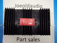 Marantz 2230B Original Heat Sink. Tested. Parting Out Entire 2230B Receiver.