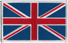 22127 UK British Flag Union Jack England Pride Embroidered Iron Sew On Patch
