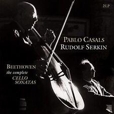 Ludwig Van Beethoven Complete Cello Sonatas 1-4 Vinyl 2 LP