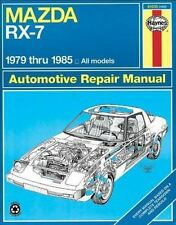 NEW - Mazda RX-7 Rotary 1979 thru 1985 All Models (Automative Repair Manual)
