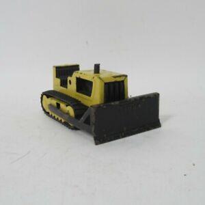 "Vintage Tonka Bulldozer 4"" Model Vehicle Metal Construction Digger Excavator"